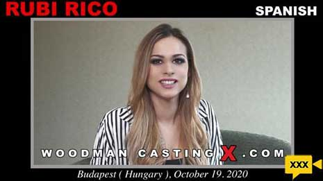 Then Rubi Rico will undress to show her body naked.